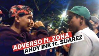 ADVERSO ft. ZONA VS ANDY INK VS SUAREZ || FREESTYLE BUCARAMANGA || SKILLS MIC™