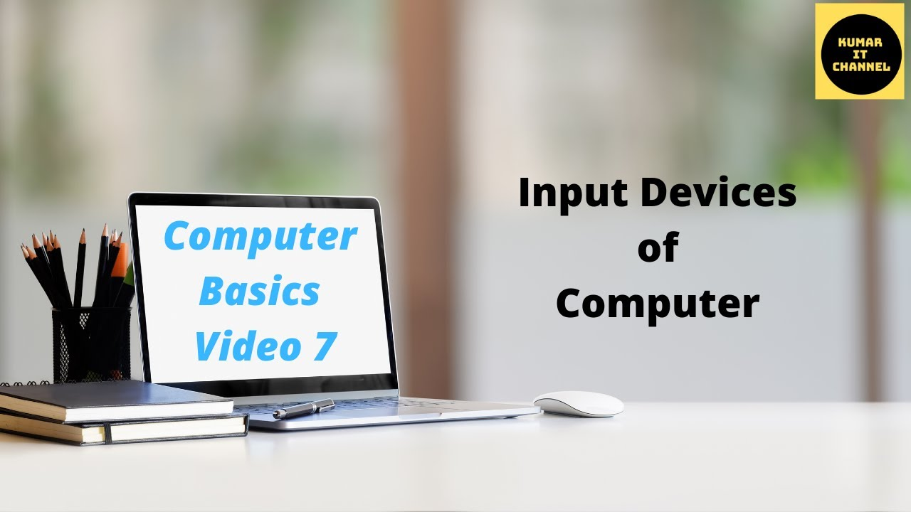 computer basic tutorial part 7 different input devices of