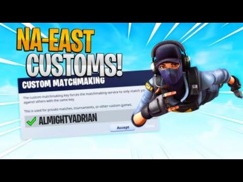 🔴(NA-EAST) PRO CUSTOM MATCHMAKING SCRIMS SOLO/DUO/TRIOS/SQUADS FORTNITE LIVE/PS4,XBOX,PC