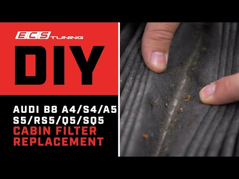 How To Fix Your Smelly Cabin in 5 Minutes! | Audi B8 A4/S4/A5/S5/RS5/Q5/SQ5 | DIY | ECS Tuning