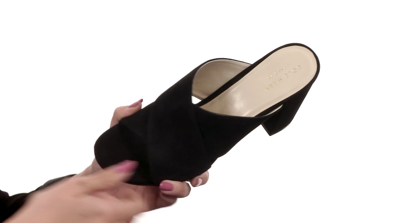 31f50299bf24 Cole Haan Gabby Sandal SKU 8894875 - YouTube
