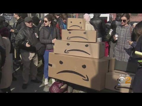 Future Of Amazon HQ In NYC Thrown Into Doubt