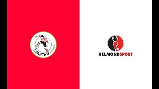 HIGHLIGHTS | Sparta Rotterdam - Helmond Sport