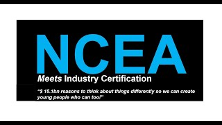 CREATIVE ECONOMIES RELY ON DEVELOPING TALENT  - NCEA MEETS INDUSTRY CERTIFICATION