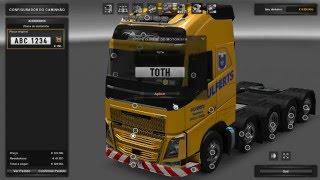 Euro Truck SImulator 2 mod Volvo FH 10x4  para 1.22 Download