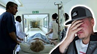 GRANDMA HAD TO GO TO THE HOSPITAL