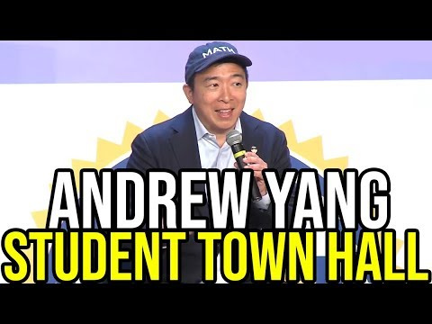 Andrew Yang Speaks at the Youth Voice Forum Town Hall in Des Moines, Iowa | September 22nd 2019