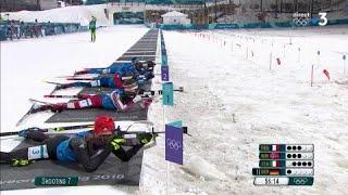 JO 2018 : Biathlon - Relaix Mixte : Peiffer craque, Fourcade chasse l'or !