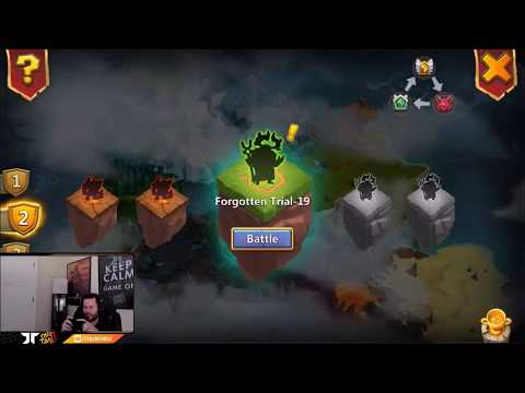 JT's F2P Forgotten Trial New Game Mode Level 18+ Castle Clash