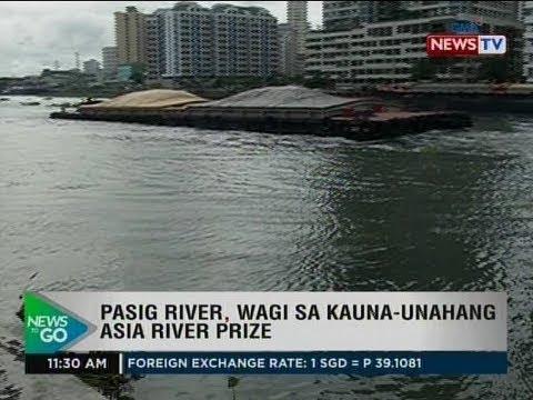 NTG: Pasig river, wagi sa kauna-unahang Asia River prize