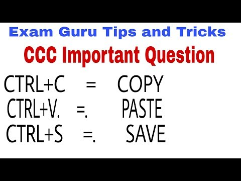 Important Question for Computer CCC Exam