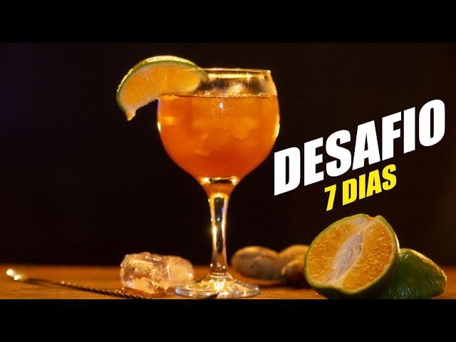 DESAFIO DRINKS EM CASA