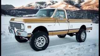 1971 Chevy K20 Custom Deluxe, AC Cab, NEW 380HP 350 4-Bolt Main V8, $35K Frame Up Resto!