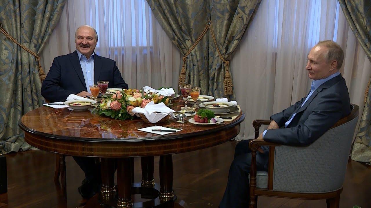 Лукашенко и Путин в Сочи. Итоги переговоров: газ по ценам 2019-го, нефть – по мировым