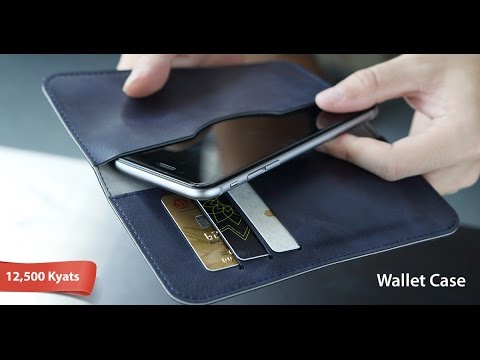 Synthetic leather wallet mobile phone case