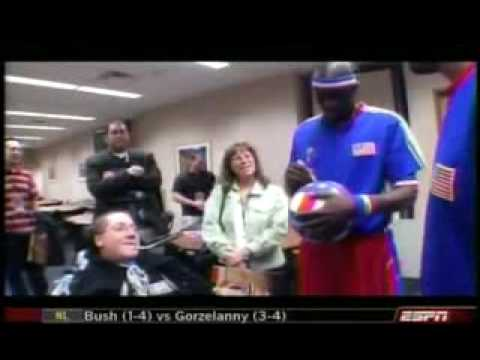 """Kevin """"Special K"""" Daley from the Globetrotters on Jim Rome"""
