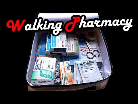 Tutorial - Travel Walking Pharmacy - treat Emergency Kit