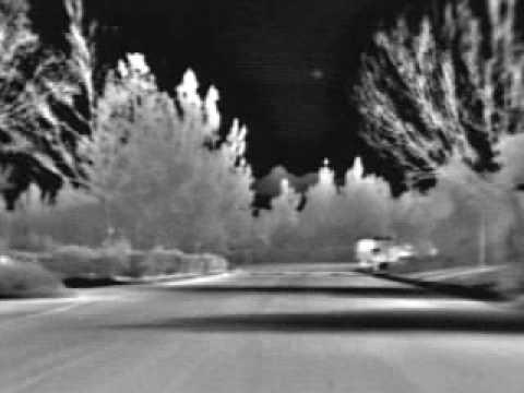 PTZ FLIR thermal infrared imaging night vision camera driving