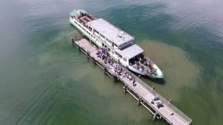 DJI Phantom 4 Drohnenvideo Chiemsee bei Chieming