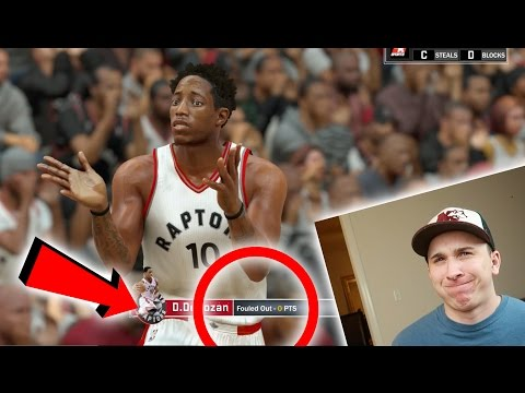 What If Every Player On A Team Fouled Out? NBA 2K17 Challenge