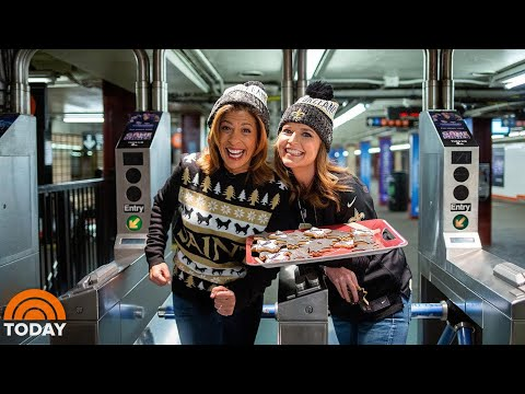 Savannah Gutherie and Hoda Kotb Celebrate Saints Wins | Today