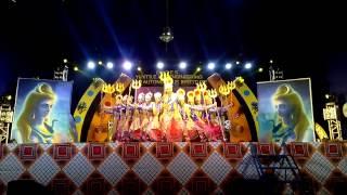 winning shiva stuti tandav dance by malhar group at dkte college