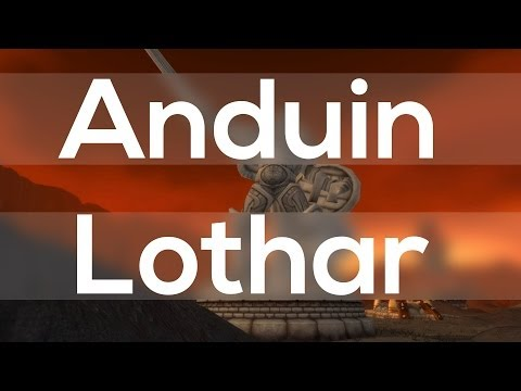 The Story Of Anduin Lothar (World Of Warcraft Lore)