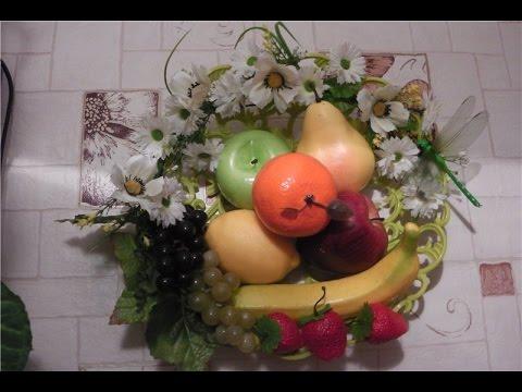 Панно из фруктов!