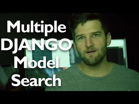 MULTIPLE Model Search in Django -- Django & Python Tutorial