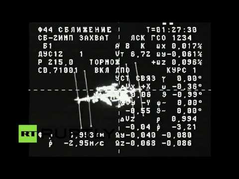 LIVE: Progress M-29M to dock with the ISS