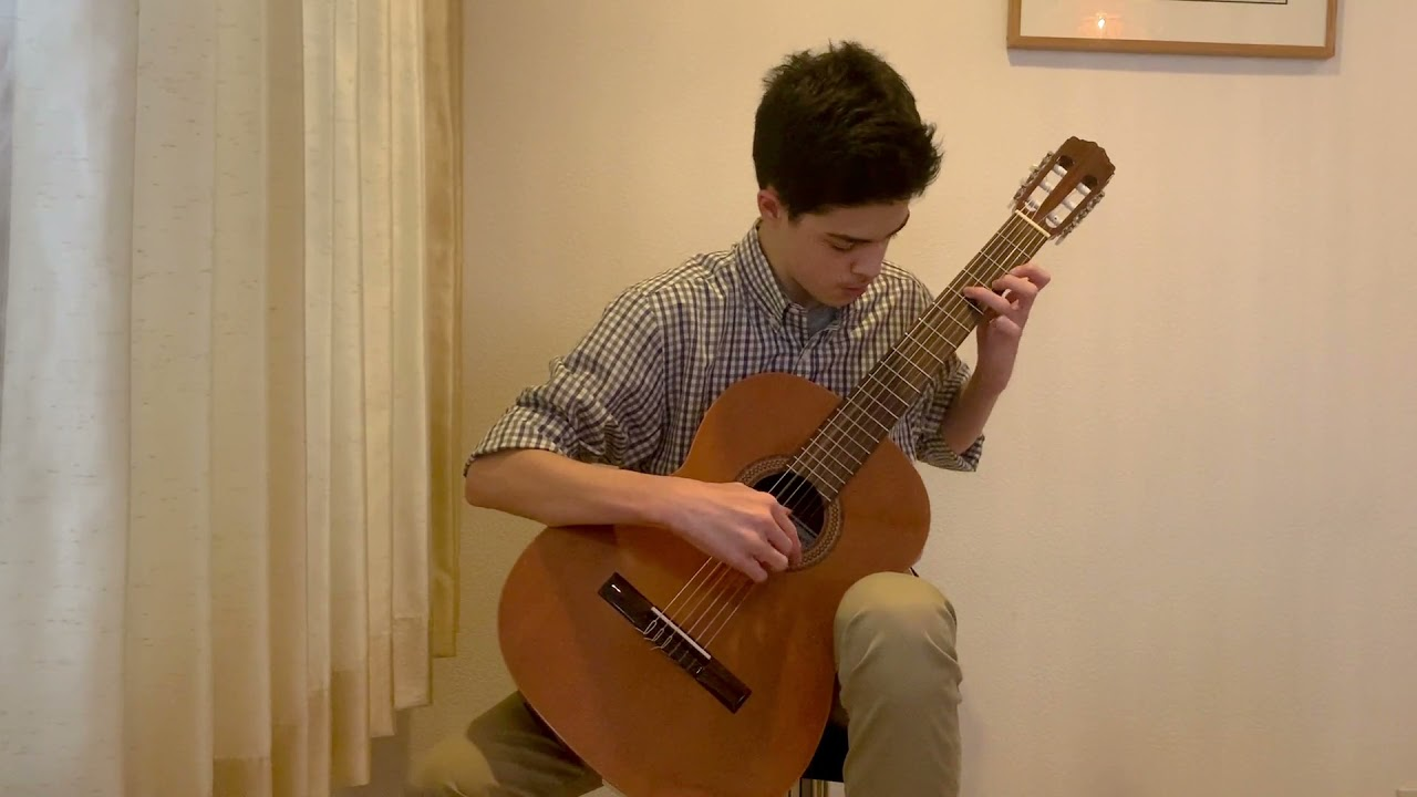 """Luca plays """"Memories of the Alhambra"""" (Concert Level Piece)"""