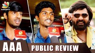 AAA : Anbanavan Asaradhavan Adangadhavan Public Review | Simbu, Shriya, Tamanna