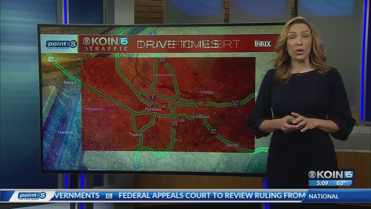KOIN Traffic 510am July 10, 2019