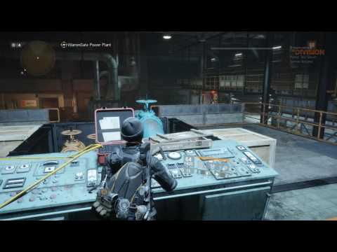 The Division - Solo - Challenge mode - WarrenGate Power Plant - Week 2 PTS