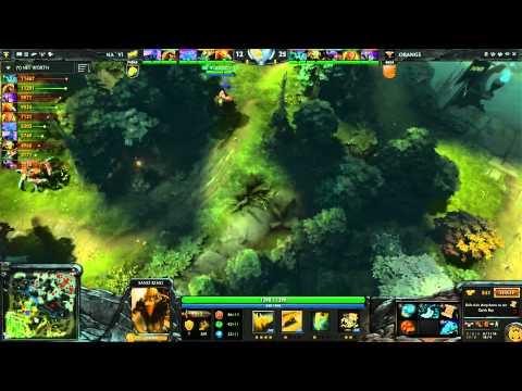 Orange Vs Na'Vi LB Round 6A 3 Of 3   Russian Commentary