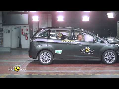 Euro NCAP Crash Test of Ford Grand C-MAX
