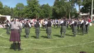78th Highlanders (Halifax Citadel) - medley - Georgetown 2015