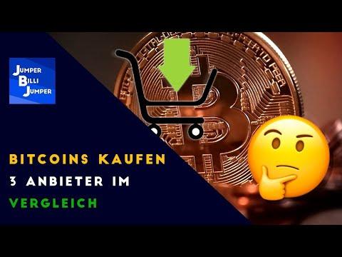Wo soll ich meine Bitcoins kaufen? - Bitcoin Anbieter Vergleich