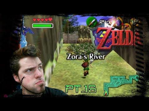 The Legend Zelda Ocarina of Time pt.16: Onwards to Zora!