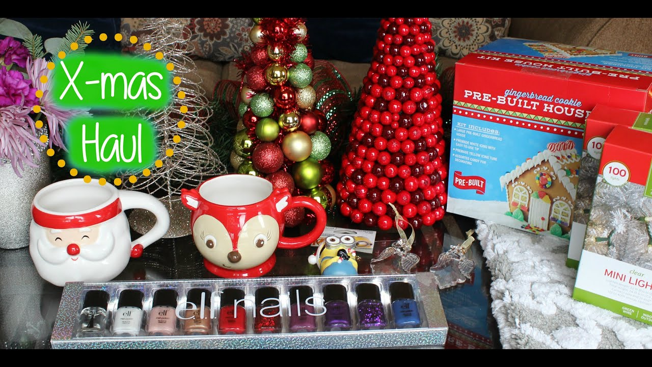 Christmas Decor: Pier 1 & Target Holiday Haul - YouTube