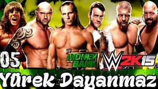 WWE 2K15 Türkçe oynanış | En manyak MONEY IN THE BANK | 5.Bölüm | Universe | Ps4