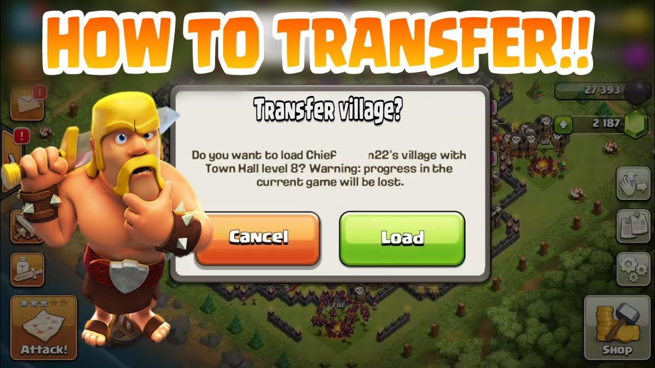 How To Connect Clash Of Clans With Game Center ...