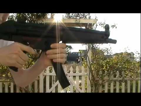 G&G MP5A4 Pneumatic Blowback Review