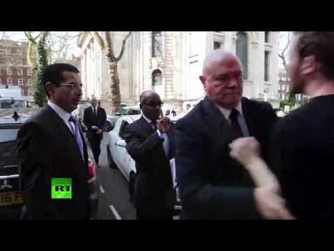Saudi general dodges citizen arrest in London