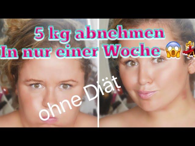 Abnehmen in einem Monat ohne Diäten zu