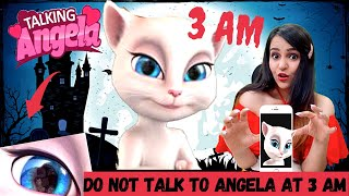 Testing the CREEPY Talking Angela App (DO NOT DOWNLOAD)
