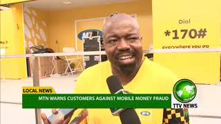 MTN Ghana Warns Customers Against Mobile Money Fraud #ttvnews
