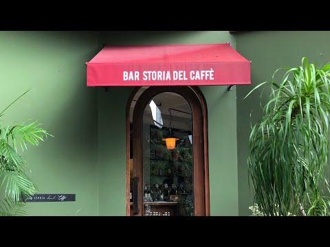 คาเฟ่สีเขียวย่านอารีย์ - Bar Storia Del Caffé