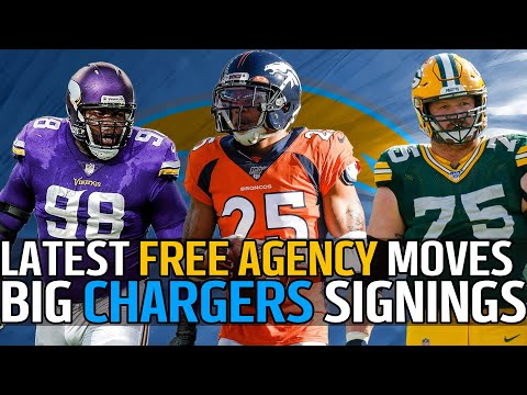 Chargers INSANE Free Agent Moves: Chris Harris, Linval Joseph, Bryan Bulaga | Director's Cut