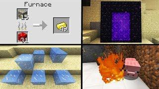 Life Hacks: 10 Minecraft Life Hacks